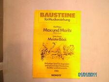 Kinderchor + Instrumente Noten : Max und Moritz - 3. Streich  - PARTITUR