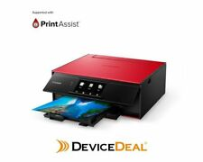 Canon A4 Colour Inkjet Printer RED TS9160
