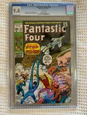 1971 Fantastic Four 114 CGC 9.4 1st full app The OverMind White Pages