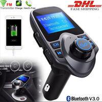 Wireless Bluetooth Car Kit MP3 Player FM Transmitter USB Charger Radio Adapter