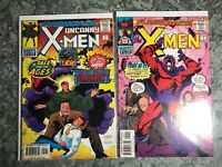 Flashback Uncanny X-Men 2 Books - High Grade Comic Book - B15-37