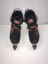 K2 EXO Tech Mens Inline Skates Size 12 - Red White Black