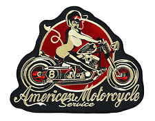 David vicente [american motorcycle] XXL Patch 25x20 Patch rockabilly Biker ro
