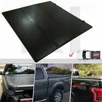 "For 2015-18 Ford F150 Lock Hard Solid Tri-Fold Tonneau Cover 5.5Ft 66"" Short Bed"