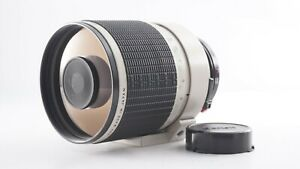 <EX++++> Sigma Mirror Telephoto White 600mm f/8 Manual Lens Canon FD Japan 2915