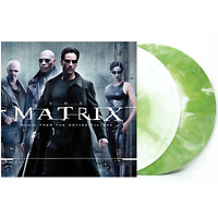 The Matrix Soundtrack Exclusive Green With White Starburst 2x Vinyl LP #/330