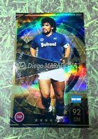 Panini soccer Footista2020 Diego Maradona Legend card Napoli Argentina WCCF