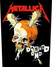 Metallica official Backpatch Damage Inc. PARCHE DE ESPALDA THRASH MASTER OF