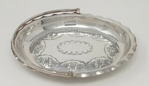 Antique / Old Vintage Silver Plate EPNS Cake Tray / Plate