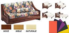 Prontoletto Montagna SINGOLO tinta unita vari colori con materasso