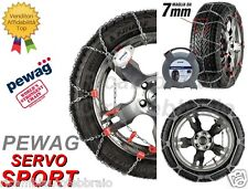 Catene Neve 7mm PEWAG SERVO SPORT RSS79 AUDI A6 A6 AVANT 2011 Gomme 235/55R18