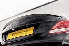 Mercedes C Class Boot Spoiler in Gloss Black W205