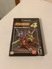 Digimon World 4 (Nintendo GameCube, 2005) Case + Disc, NO Manual