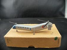 Solido n° 181  A hélicoptère Piasecki H-21 bi-rotor 11 cm ancien en boite RARE