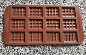 Brown Silikomart Candy Cake Molds - Made In Italy - SCG011