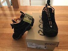 NWT,  Ecco, Boy's Sneakers/Shoes, Size 13 (kid), Black