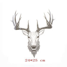 Deer Iron On Patches Ironing Sticker For Clothing DIY Decor Washable AppliquesEB