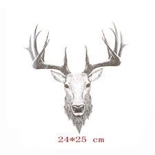 Deer Iron On Patches Ironing Sticker For Clothing DIY Decor Washable AppliquesHT