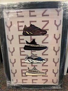 Yeezy Artwork Framed Poster Reprint Kanye West inspired (check description)
