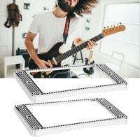 2pcs METAL HUMBUCKER PICKUP Rahmen Montage Ring für E-Gitarre