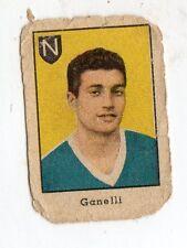 FIGURINA NANNINA  TECNICOLOR 2° SERIE  APRILE  1947  CALCIO  NAPOLI  GANELLI