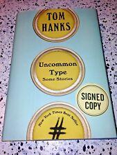 Tom Hanks SIGNED BOOK Uncommon Type SIGNED TWICE Rare Publisher Error!!!