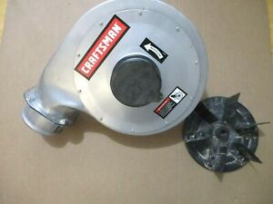 Craftsman Portable Dust Collector 152.213351  Blower Housing W/Impeller OR90641