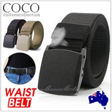 Outdoor Nylon Belt Women Men's Sport Military Tactical Waistband Canvas Web Belt
