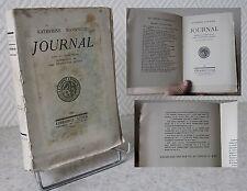 Journal Katherine Mansfield 1932 édition originale N°140
