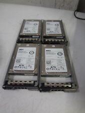 """LOT OF 4 - Dell X162K 0X162K 146GB HDD Hard Drive 15K SAS 2.5"""" 6Gb/s ST9146852SS"""