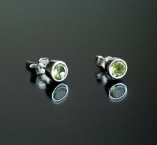 Handmade Topaz Sterling Silver Fine Earrings