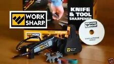 Knife Sharpener Professional Angle Electric Belt Sharpen Tools Kit Work Sharp