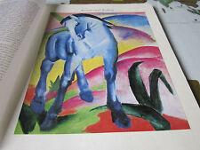 Archiv Bayerische Geschichte 10 Kultur 5205 Blaues Pferd Franz Marc 1911