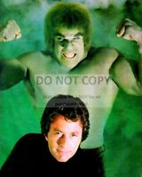 """BILL BIXBY LOU FERRIGNO IN """"THE INCREDIBLE HULK"""" - 8X10 PUBLICITY PHOTO (EE-107)"""