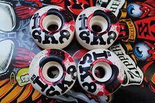 WORLD INDUSTRIES 53mm I Heart / Love Sk8 Street NOS Rare Skateboard WHEELS