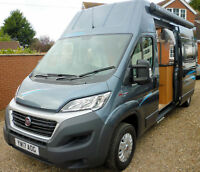 FIAT DUCATO LANDSLEEPER MOTORHOME HIGH ROOF CAMPER VAN NEW BUILD 2017