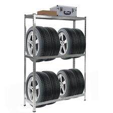 Reifenregal HWC-E36, Reifenständer, Tragkraft bis 795kg verzinkt 180x120x40cm