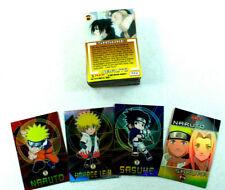 Naruto Lot de 62 cartes a collectionner Panini