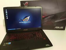 ASUS Gaming Laptop Intel(R) Core(TM) i7-4720HQ CPU@2.60GHz GEFORCE GTX 970M