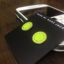 HOT SALE MARC BY MARC JACOBS 14 COLORS CLASSIC LETTERS DISC EARRINGS #E001X