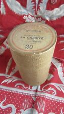 ancien tube cylindre cylinder pathes  gramophone la charité BOITE VIDE