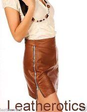 Mini-Damenröcke aus Leder für Business-Anlässe
