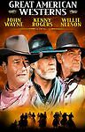 Great American Westerns (DVD, 4-Disc Set) Gambler V John Wayne Willie Nelson