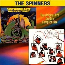 From Here to Eternally/Love Trippin' by The Spinners (US) (CD, Aug-1998, Collect