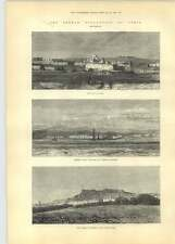 1881 French Occupation Of Tunis Kef Captured By French Army