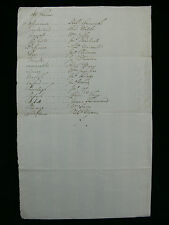 """c1703-4 British Naval Manuscript """"Acct of Ships Fitted out for the Channill"""""""