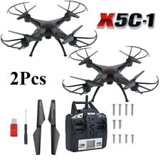 2Pcs X5C-1 Drone RC Quadcopter Explorers 2.4Ghz 4CH 6-Axis  with HD Camera WW