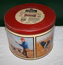 "1996 Ol' Roy Comm. Ed. Dog Bone Tin 7 3/8"" RARE Springer Spaniel Hunting VG"