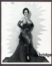 Busty Stripper Big Boobs 8x10 Prostitute Showgirl 1960 Original Pinup Photo C87
