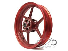 NEW RED Front Wheel ZX6R 2005-2012 ZX10R 2006-2010 636 Rim 2008 2007 09